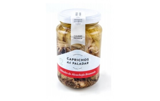 Mitades de alcachofa braseada