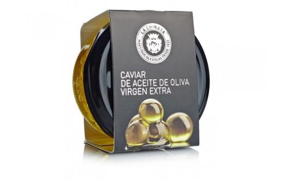 Caviar de aceite de oliva virgen extra.