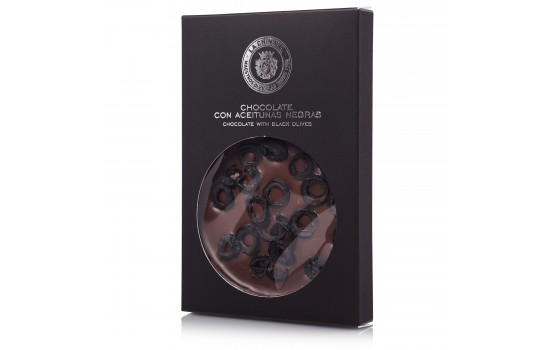 Chocolate con aceitunas negras