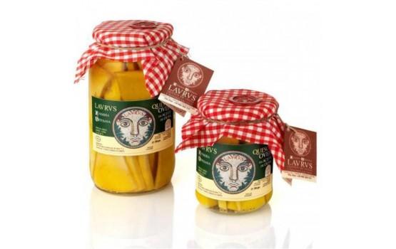 Queso de oveja en aceite de oliva 250 gr.